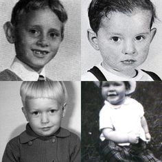 BABY Depeche Mode (Martin, Dave, Alan and Andy). This is so totally awesome.