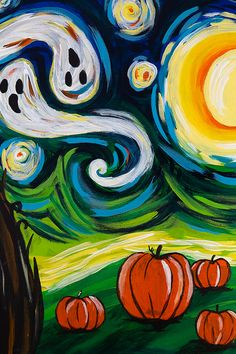 48 Halloween Paintings Ideas Halloween Painting Pinots Palette Paint And Sip