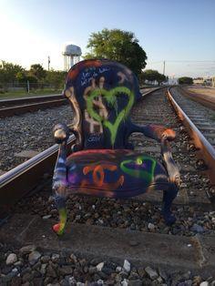#GrafittiArt #grafittiChair #chair #furniture #mishuart