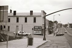 Wytheville, Virginia in 1975 the corner of 4th and main