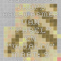 """Gebreide DROPS halswarmer van """"Fabel"""" en """"Vivaldi"""". Maat: S - XXXL. ~ DROPS Design"""
