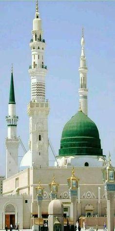 Rauza Rasoolullah s. Masjid Haram, Al Masjid An Nabawi, Mecca Masjid, Islamic Images, Islamic Pictures, Islamic Art, Islamic Quotes, Islamic Videos, Mecca Wallpaper