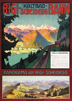 Vitznau-Rigi-Bahn / Central Switzerland