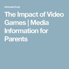 Effect of video games essay Need to support your essay? Here's a head start on your research with links to and descriptions of useful articles on the effects of video games. Article Writing, Essay Writing, Cincinnati Art, Media Web, Term Paper, Argumentative Essay, Parenting Teens, Head Start, Research Paper