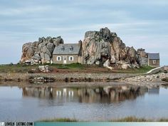 Castel Meur on the coast of Brittany