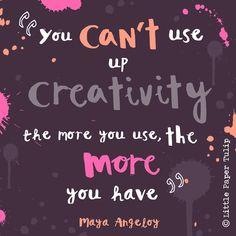 Love this quote, it's so true! #makeitindesign #upbcomp #quote #creative…
