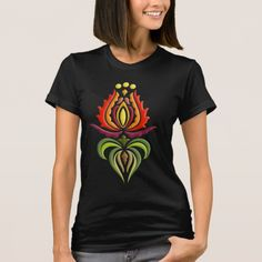 Fancy Mantle Embroidery - Hungarian Folk Art T-Shirt