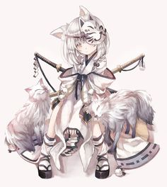 Pixiv Id 1864979 Image - Zerochan Anime Image Board Anime Neko, Kawaii Anime Girl, Pet Anime, Lolis Neko, Manga Kawaii, Anime Animals, Manga Girl, Anime Wolf Girl, Anime Art Girl
