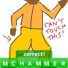 MC Hammer #Drawsomething