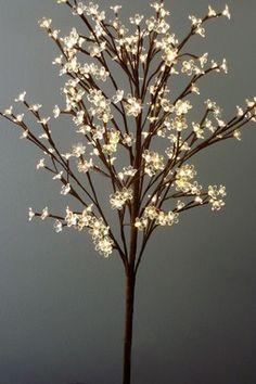 Warm White LED Tree Lamp