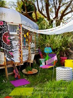 Quirky caravan holiday!