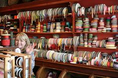 I need shelves like this for my ribbons
