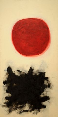 Painting by Adolph Gottlieb who was an american abstract expressionist painter, sculptor and graphic artist. Art And Illustration, Art Asiatique, Kandinsky, Museum Of Modern Art, Love Art, Painting & Drawing, Art Photography, Street Art, Abstract Art