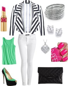 """Minty Fresh"" by mssbutler01 on Polyvore"