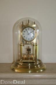 German Made Sunbeam Quartz Moon Phase 9 Quot Anniversary Clock