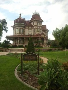 CA - The Morey Mansion, a Redlands icon, has been called America's favorite Victorian home. Its owners say the house has spirit, and their visitors have sensed or seen it. Photo: DEBRA GRUSZECKI/STAFF PHOTO