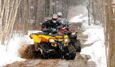 Commander Trex3.0 ATV track in the mud! Hooo Yeahhh!