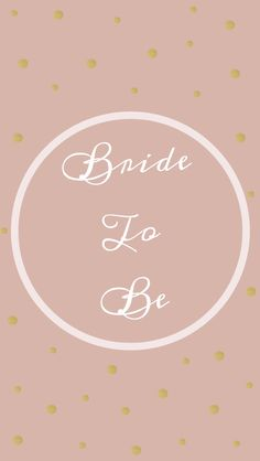 Free iPhone wallpaper download for all the stylish brides to be! To The Altar And After
