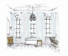 grand bathroom by M Morelan Design, via Flickr