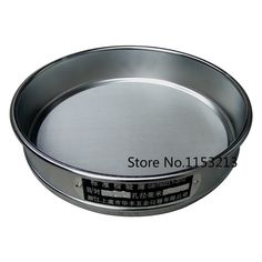 22.50$  Buy now - http://alia5q.shopchina.info/go.php?t=32779405566 - R30cm 10 mesh / Aperture 2mm Standard Laboratory Test Sieve Sampling Inspection sieve Pharmacopeia sieve 22.50$ #buyininternet