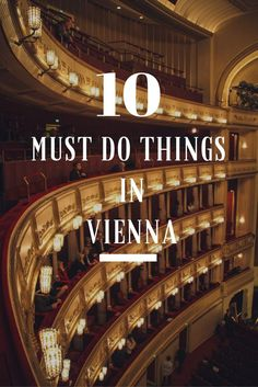 I love Vienna. I live for Vienna - I think everybody should visit and enjoy all its imperial splendour so here is my Top Ten Things to Do in Vienna! Enjoy!