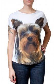 Comprar camiseta-estampa-cachorro-yorkshire-usenatureza