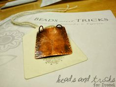 Pendant from Beads and Tricks