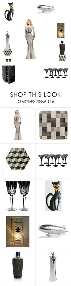 Ready to party by einder on Polyvore featuring interior, interiors, interior design, home, home decor, interior decorating, Frontgate, Asprey, Alessi and Waterford