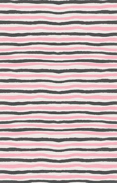 pink and grey stripes (Georgiana Paraschiv) Cute Pattern, Pattern Art, Pattern Design, Stripe Pattern, Textile Patterns, Textile Design, Textiles, Pretty Patterns, Color Patterns