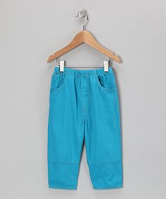 Take a look at this Lagoon Twill Pants - Infant, Toddler & Boys by Flap Happy on #zulily today!