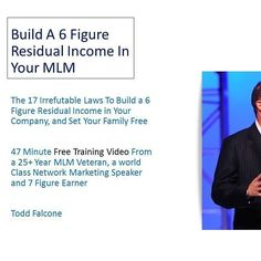 http://ift.tt/1MPwTJ4 The 17 irrefutable Laws To Build a Six Figure Residual Income in your Company and set your family free #onlinemarketing