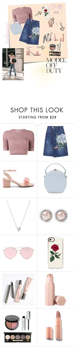 """MODEL OFF DUTY"" by xocha ❤ liked on Polyvore featuring Post-It, Valentino, Dolce&Gabbana, Raye, Handle, Links of London, Miu Miu, LMNT, Casetify and Puma"