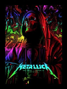 Metallica Concert, Metallica Art, Heavy Metal Art, Heavy Metal Bands, Camisa Rock, Rock Band Posters, Cool Album Covers, Band Wallpapers, Vintage Music