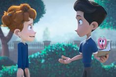 Adorable Animated Film Offers Beautiful Story Of Two Boys Falling In Love Trailer Peliculas, Digital Film, Film D'animation, Film Movie, What To Draw, Film School, Beautiful Stories, Beautiful Things, Film Awards