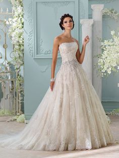 #weddingdress #fashion #DavidTutera @weddingchicks