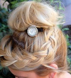up-do bun