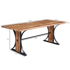 Wooden Dining Tables, Dining Bench, At Home Store, Modern, Furniture, Home Decor, Products, Wood Dining Tables, Trendy Tree
