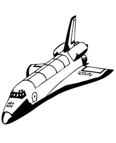 13 best Space Shuttles Coloring Pages images on Pinterest | Space ...
