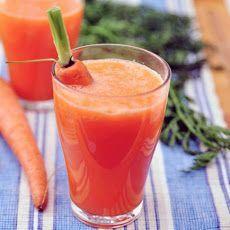 Anti-Inflammatory Juice with fresh pineapple, cherries, carrots, fresh ginger, turmeric root