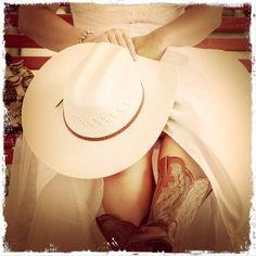 #cowboy boots #wedding