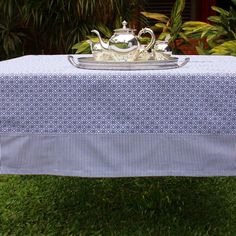 Mantel colección LENA - Diseño Classic Navy