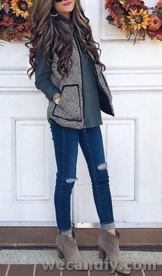 winter outfits preppy Top 25 Preppy Style and Outf - winteroutfits Winter Outfits For Teen Girls, Cute Fall Outfits, Fall Fashion Outfits, Fall Fashion Trends, Fall Winter Outfits, Look Fashion, Winter Fashion, Casual Outfits, Womens Fashion