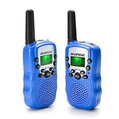 Kids Walkie Talkies , BaoFeng 22 Channel 2 Ways Radio Walkie Talkies 3 Miles (Up to FRS GMRS Handheld Mini Walky Talky Toy for Kids,with Earphone Call Tone, Channel 2, Two Way Radio, Kids Hands, Walkie Talkie, Mini, Kids Toys, Flashlight, Toys