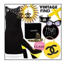 """""""First Class Vintage"""" by clovers-mind ❤ liked on Polyvore"""