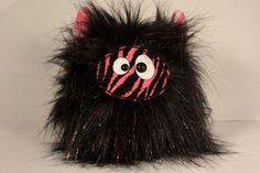 Voodee Poof Monster by CustomCrittersNYC on Etsy