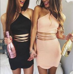 Short party dress,two pieces homecoming dress,black dresses,short sexy dress,special design homecoming Coral Homecoming Dresses, Women's Dresses, Cute Dresses, Party Dresses, Dress Party, Occasion Dresses, Pageant Dresses, Mini Dresses, Bridesmaid Dresses