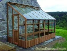 Swallow Dove 6x6 Lean to Greenhouse
