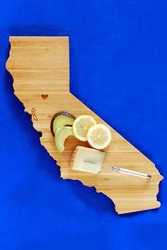 Bamboo #California cutting Board