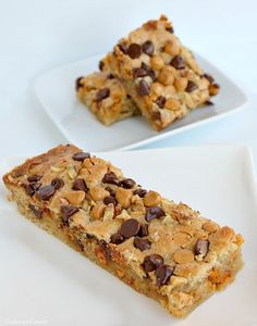 New York Famous Greyston Bakery Blondies, skipped the nuts for Claire, so great Cookie Brownie Bars, Cookie Desserts, Just Desserts, Delicious Desserts, Yummy Food, Yummy Cookies, Yummy Treats, Sweet Treats, Bar Cookies