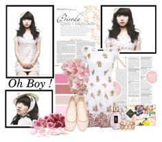 """""""Park Shin Hye in Oh Boy ! Magazine"""" by yully-yuli ❤ liked on Polyvore featuring Shin Choi, Ted Baker, Chloé, Yves Saint Laurent and Accessorize"""
